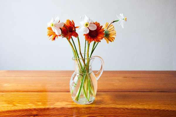 重曹 切り花
