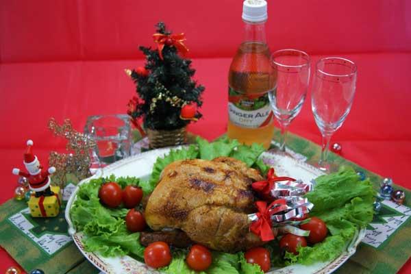 クリスマスチキン レシピ
