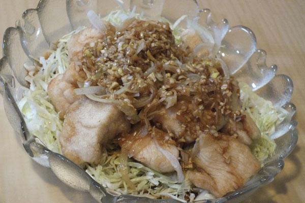 鶏ムネ肉で作る油淋鶏 作り方