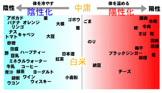 陰陽食品表
