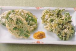小松菜の天ぷら レシピ