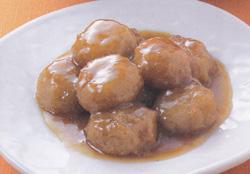 れんこん団子の甘辛煮 レシピ