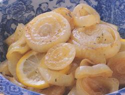 タマネギのオイル焼きレモン風味 レシピ