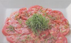 トマトの和風サラダ レシピ