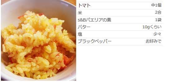 丸ごとトマトの炊き込みごはんサフラン風味