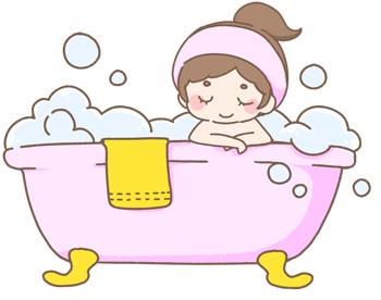 乾燥肌 冬のお風呂