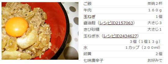 醤油麹と玉ねぎ氷deトロトロ牛丼