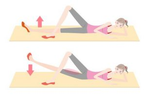 足を細くするエクササイズ